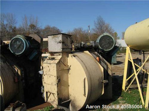 Used-Bliss Pioneer Model B-200A. 400 hp thru (2) 200 hp, 1200 rpm motors. 1 set of rolls, 1 die, feed chute, stainless steel...
