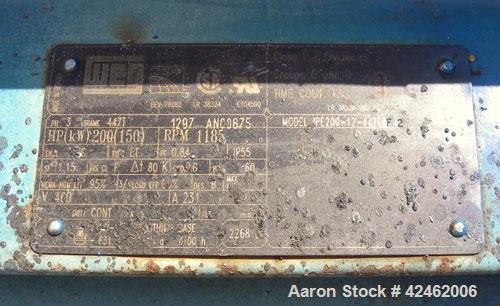 Used- Carbon Steel Bliss Industries Pioneer Series Pellet Mill