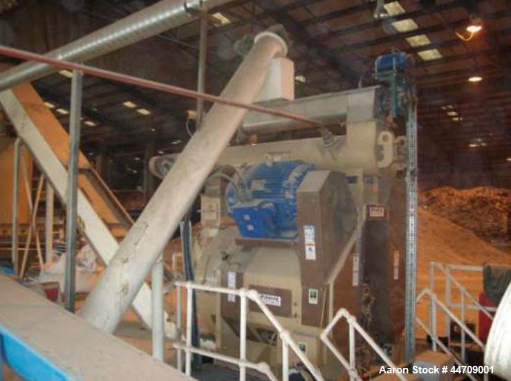 Used-Complete Bliss Pioneer Wood Pellet Product Line, includes the following:  dryer, 4 meters wide x 19 meters long x 3 met...
