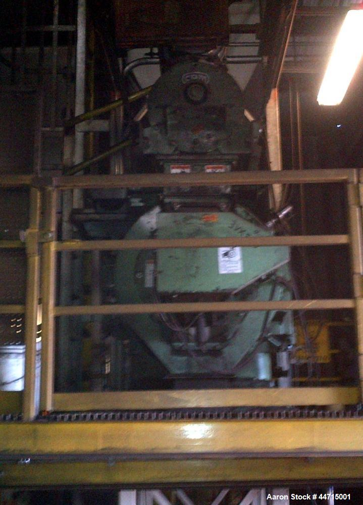 Used-California Pellet Mill, Model 3020-6.  Includes force flow feeder, conditioner model C18TNF1  5/F9.  Spare rolls and di...