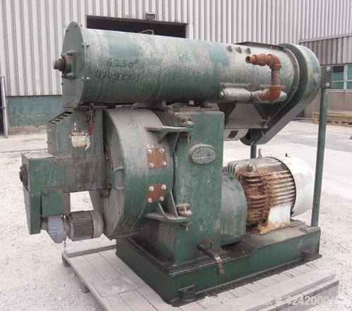 Used- Carbon Steel California Century Series Pellet Mill, Model 100C