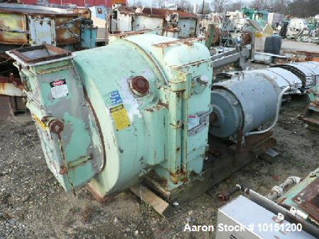 """Used- CPM 2-Roll Pellet Mill with 2 hp varispeed stainless steel feeder.  15 Hp carbon steel paddle mixer.  3/8"""" Holes on di..."""