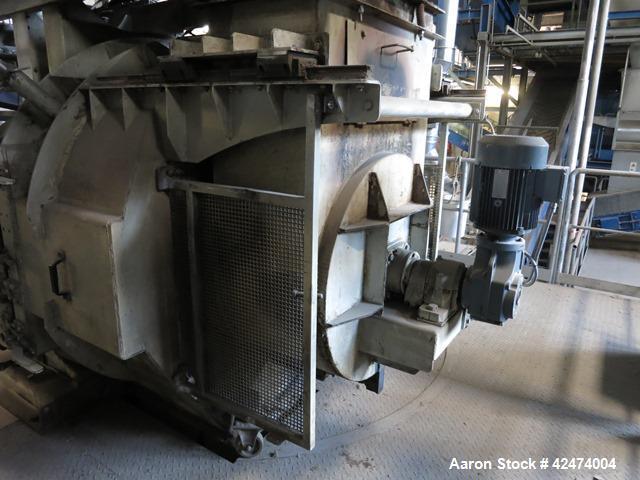 Used- Carbon Steel California Pellet Mill, Model 7936-12