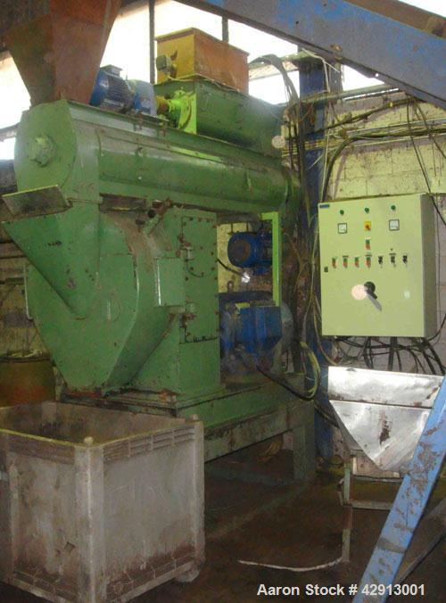 Used-CPM 2000 Pellet Mill, 125 hp with reduction gear drive, conditioner with independent drive, feeder and electric panel. ...