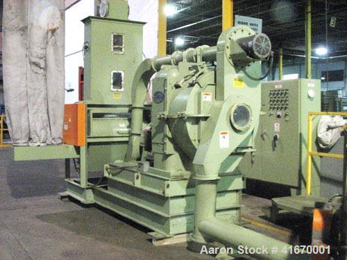 Used- Densifying Line Consisting Of: (1) California Pellet Mill, Model NH-398111, driven by a 75 hp motor. (1) Cumberland Gr...