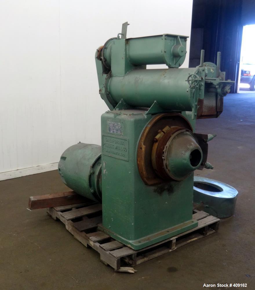 Used- California Pellet Mill, Carbon Steel.