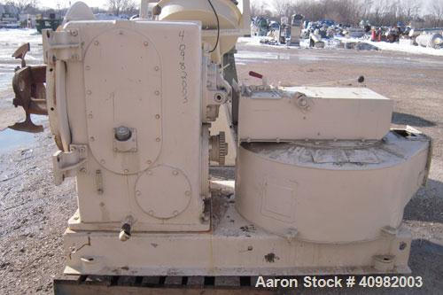 Used- California Pellet Mill, Model 7122, carbon steel. Unit includes front hood and conditioner. Missing both motors, die, ...
