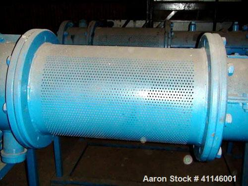 "Used- Jet-Pro Pellet-Pro Pelletizer Texturizer, Model 12-14X21, Carbon Steel. Side inlet, approximately 21"" long die screen ..."