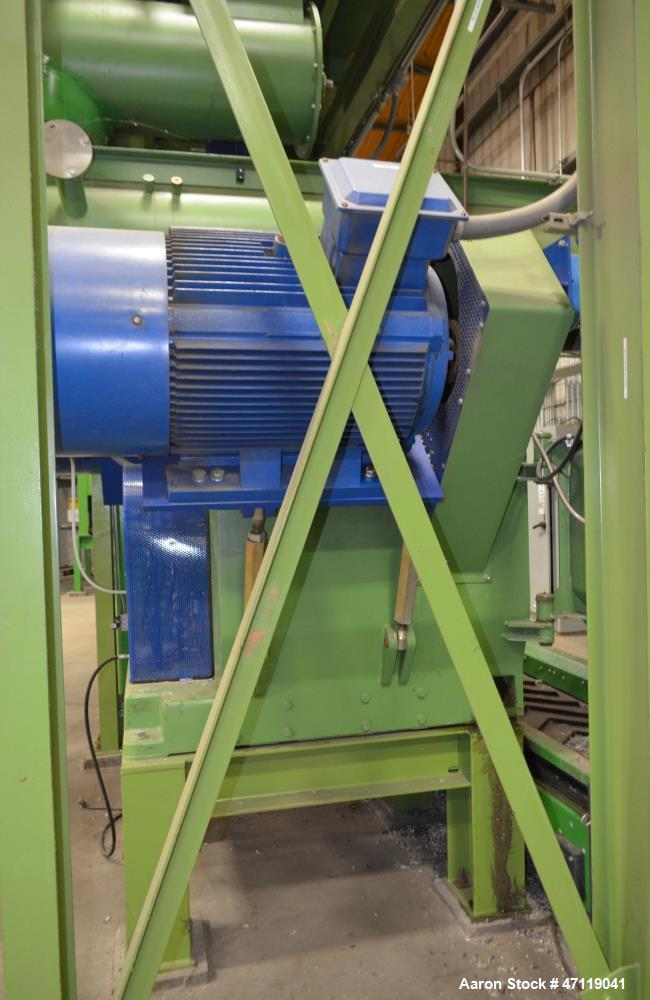 "Used- Munch Pellet Mill System Consisting Of: (1) Vecoplan incline feed conveyor, approximate 60"" wide x 26 long, approximat..."