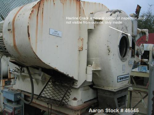 USED: Sprout Waldron model 501G pelletizer. Stainless steel productcontact parts. With model 20 x 58 stainless steel conditi...