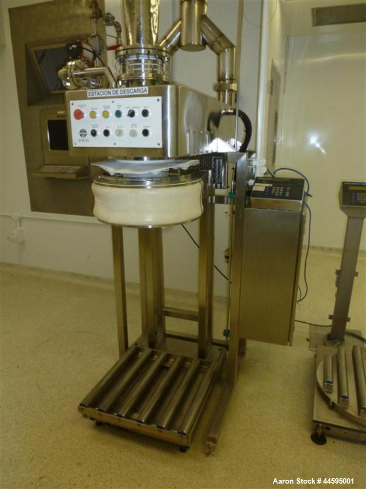 Used- Stainless Steel Hosokawa Alpine cryogenic milling system with model A250CW