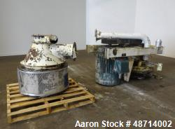 Used- Entoleter Centrifugal Impact Mill, Carbon Steel.