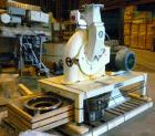 Used- Bauermeister Universal Mill, Model UT22, Carbon Steel. Approximately 18-1/2