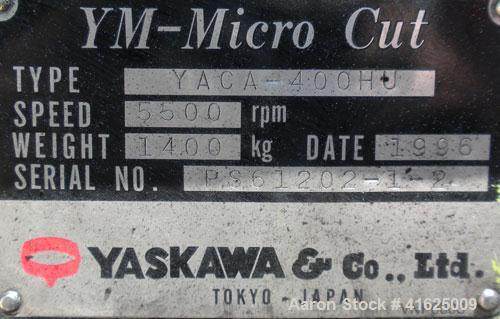 Used- Yaskawa and Company YM Micro Cut Classifying Mill, Type YACA-400HU