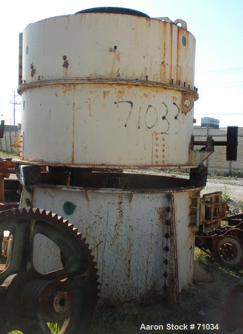 Used- C E Raymond #73612 High Side Roller Mill