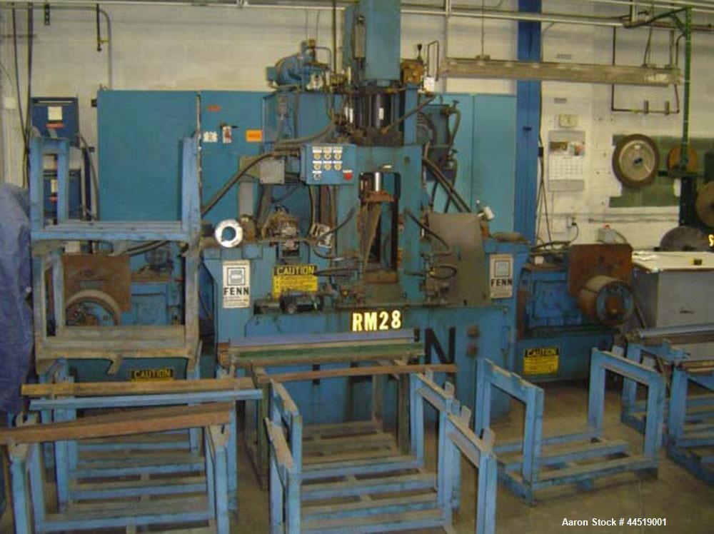Used-Fenn Roller Mill, Model 4-055 2 HI/4 HI Rolling Reversing Mill.  Hydraulic roll position system (screw downs), anticipa...