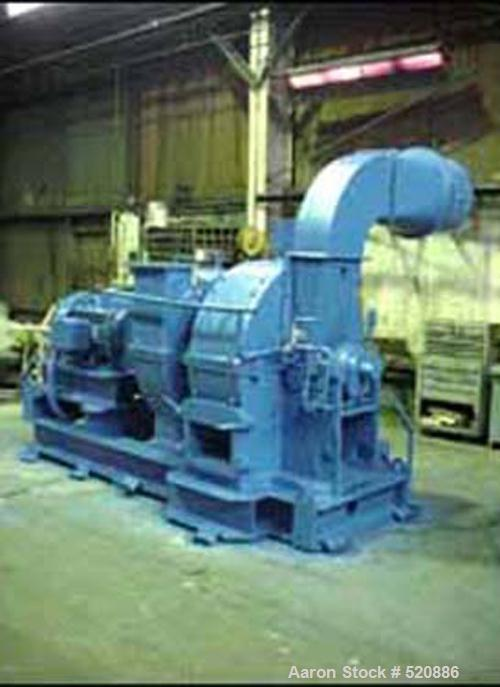 USED: Raymond IMP mill drying system as follows: (1) Used Raymond IMP mill, model 51, carbon steel construction, 175 hp driv...