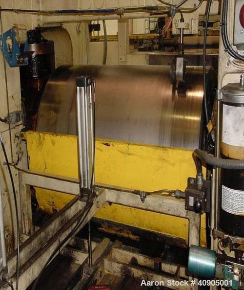 "Used-Stewart Bolling Stand Alone Roller Mill. 42"" wide capacity, 114:1 ratio, 1150 rpm input speed, 25 hp service rating."