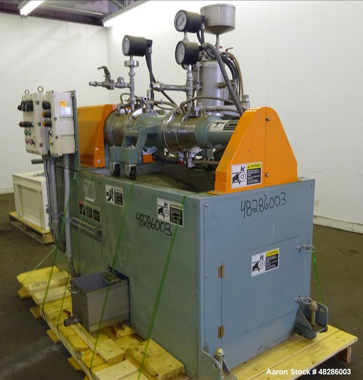 Used- Aimex Ultra Viscomill, Model UVM-5. 5 Liter working capacity (6.5 total)