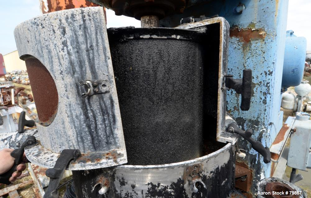 """Used: Chicago Boiler vertical """"Red Head"""" sand mill, model 30P"""
