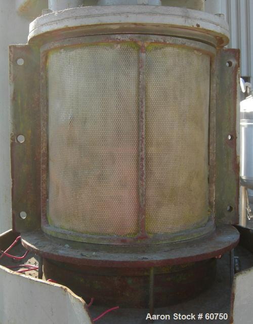 Used- Chicago Boiler Sand Mill, Model 8P-Special