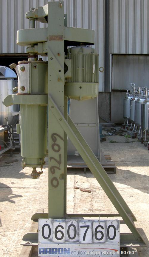 Used- Chicago Boiler Sand Mill, Model 16/8 Gallon