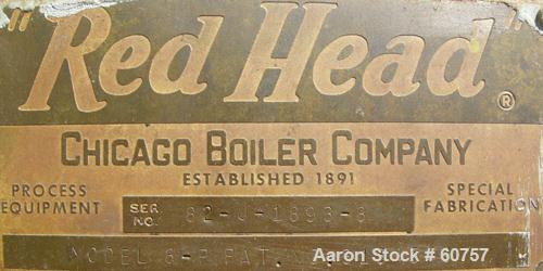 Used- Chicago Boiler Sand Mill, Model 8P