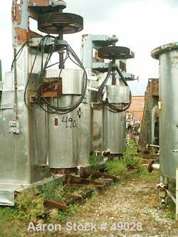 """USED: Chicago Boiler """"Red Head"""" sand mill, model 60P. Carbon steel. Continuous. Open mill. Requires motor. Capacity 170-660 ..."""