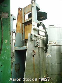 "USED: Chicago Boiler ""Red Head"" sand mill, model 60P. Carbon steel. Continuous. Open mill. Requires motor. Capacity 170-660 ..."