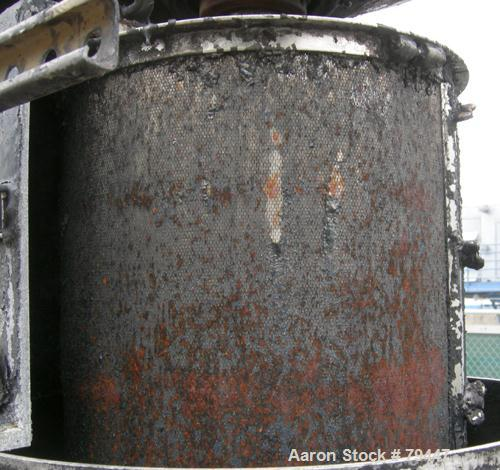 Used- Stainless Steel Chicago Boiler Vertical Red Head Sand Mill