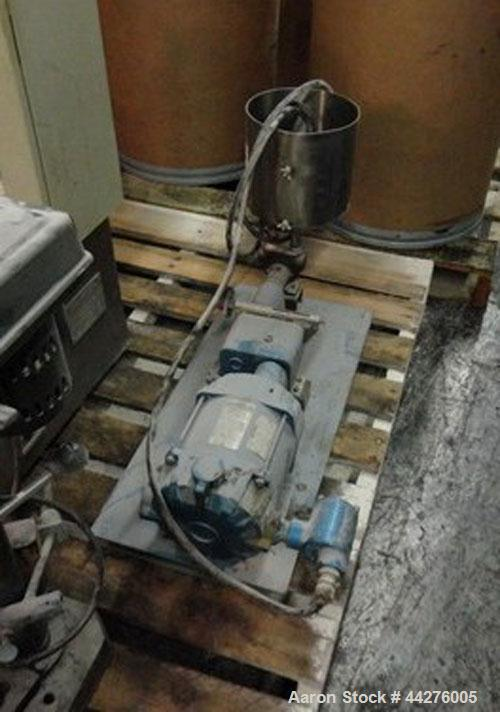 Used- Eiger Pilot Horizontal Media Mill, Model Pilot Mill 0.75. Electrics 3/60/230V. Internal capacity is 0.75 liters. Inclu...