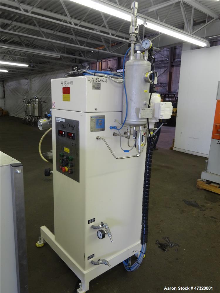 Used- Romaco Fryma Koruma Coball Annular Gap Bead Mill, Model MS 12.