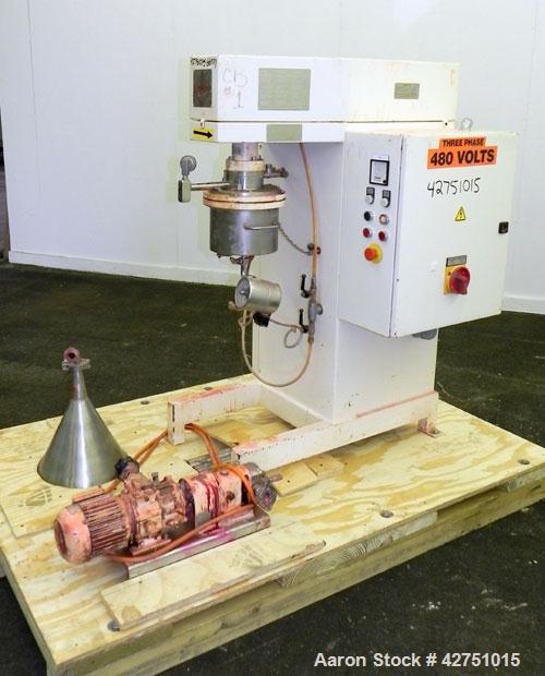 Used- Fryma CoBall Annular Gap Bead Mill, Model MS-18