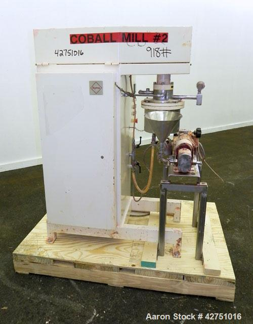 Used- Fryma CoBall Annular Gap Bead Mill, Model MS-18