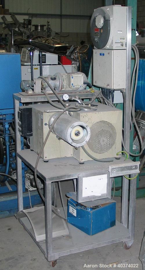 Used- Stainless Steel Knight Pilot/Laboratory Bead Mill