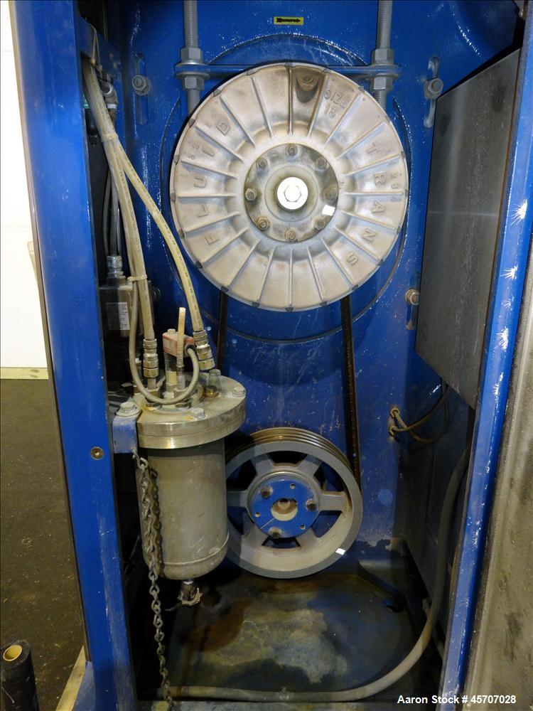 Used- Netzsch Horizontal Media Mill, Model LMC60(E), Carbon Steel Jacketed Chamber, Porcelain Lined. Capacity 49.5 liters. C...