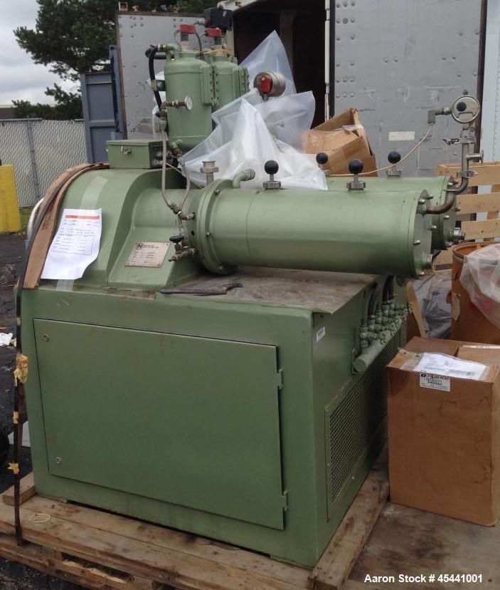Used- Netzsch Horizontal Media Mill, Model LME 20-T