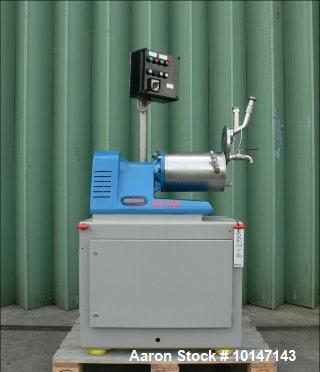 "Used- WAB Horizontal Sand Mill ""Dyno-Mill"". Model KD-5."
