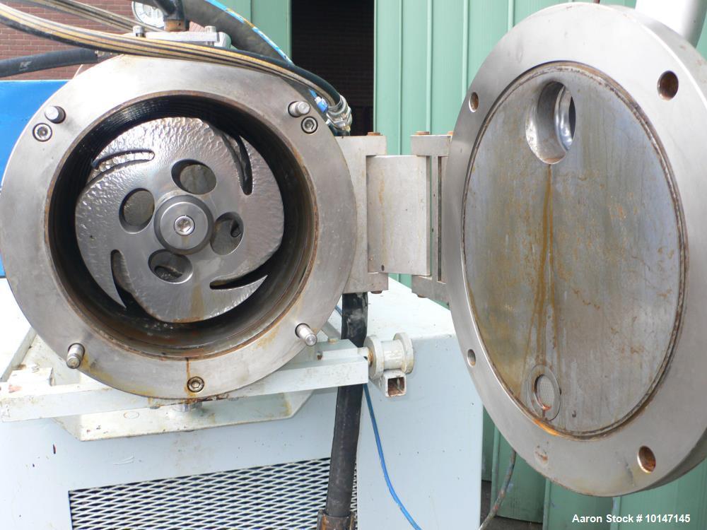 "Used- WAB Horizontal Sand Mill ""Dyno-Mill"". Model KD-60."