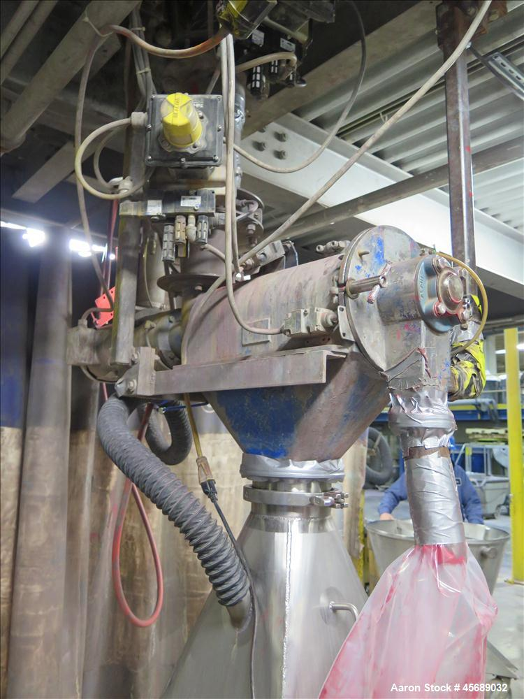 Used-Hosokawa Mikropul Pulverizer, Model 10ACM.  Carbon Steel Construction.  Includes; AZO Sifter, Model E350, Cyclone, Tole...