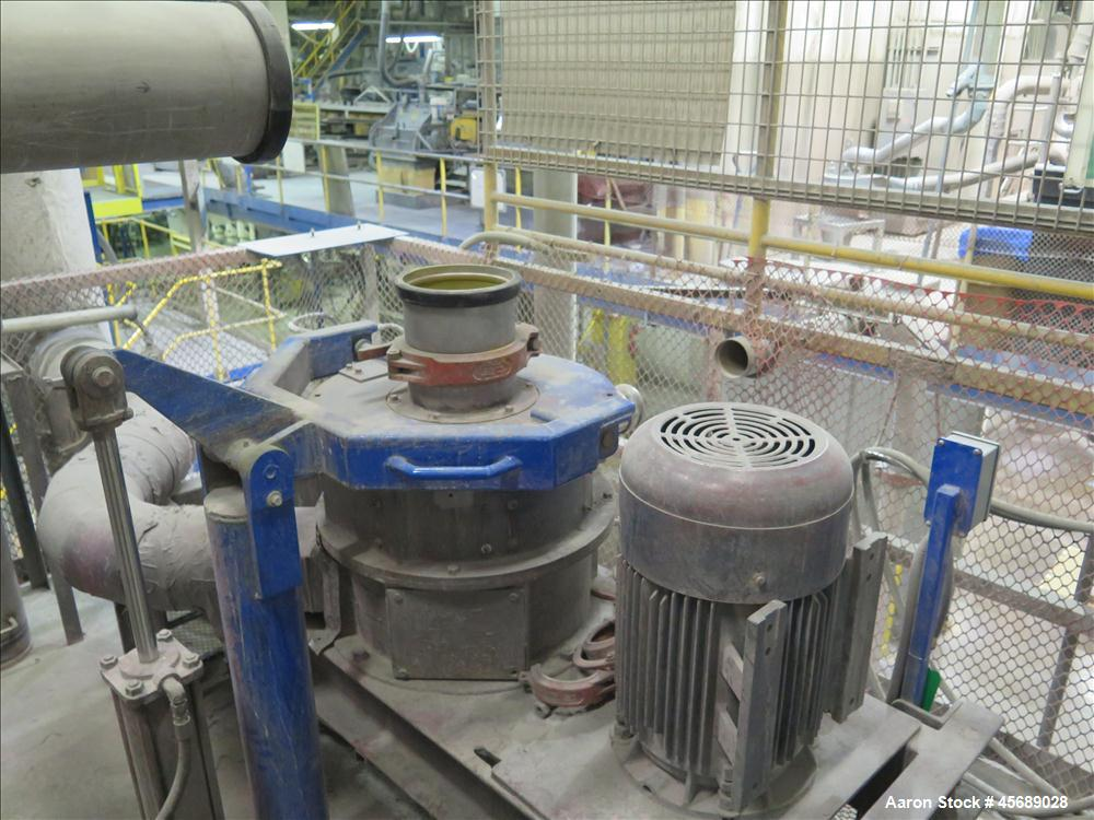 Used- Hosokawa Mikropul Pulverizer, Model 30ACM.  Carbon Steel Construction.