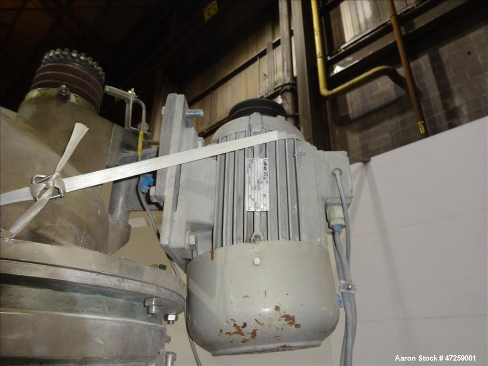 Used- Hosokawa Micron Milling System Consisting Of: (1) Hosokawa Micron Dryer, model MDV-1, stainless steel. Approximate 125...
