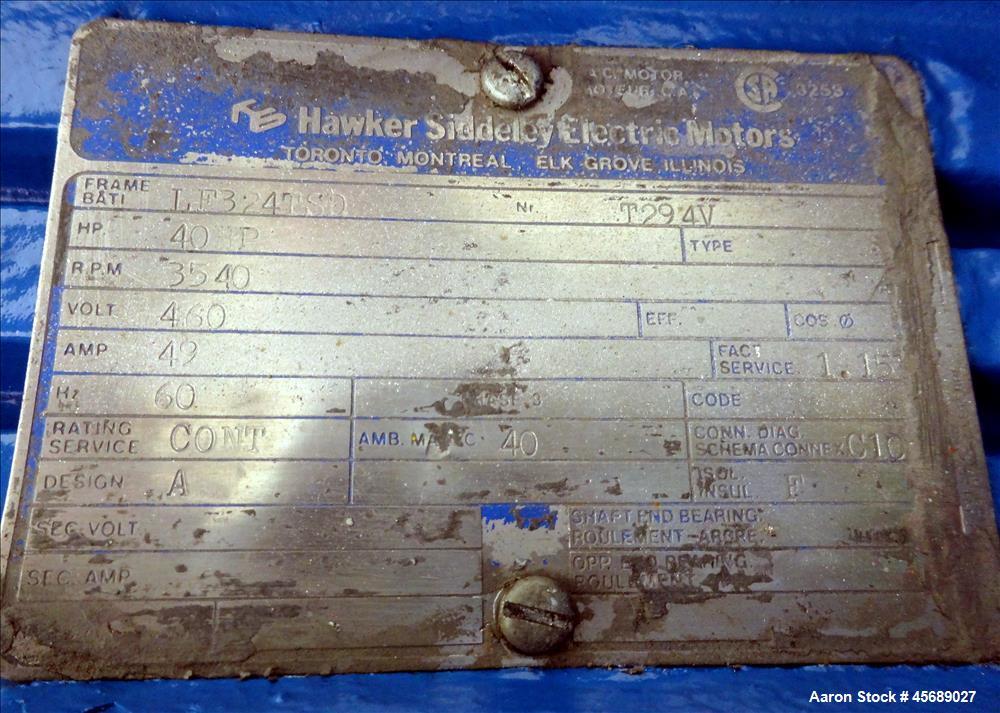 Used- PPS Kemutec Air Classifier Mill, Model 5-CMT, Carbon Steel.