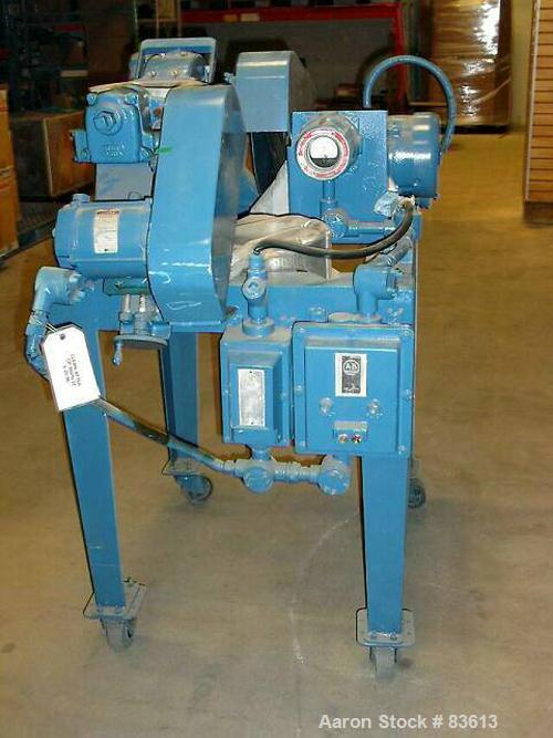 USED: Mikro pulverizer, model 1SH. 9750 rpm maximum.