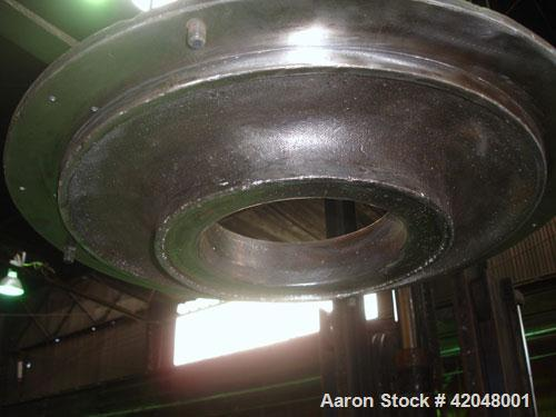 Used- Mikro Air Classifying Mill, model 30 ACM, carbon steel. Approximate 30'' diameter grinding chamber. Rotor speed 4320 t...