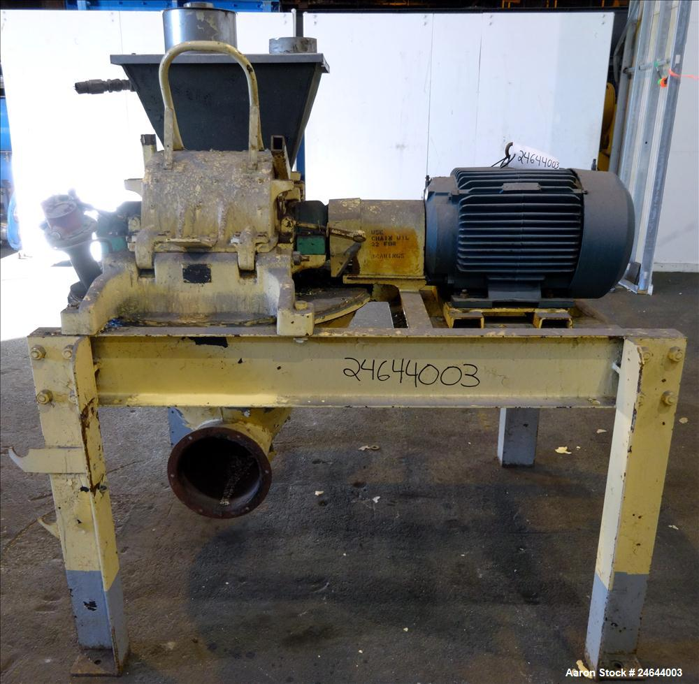 Used- Carbon Steel Mikro pulverizer, model 3TH