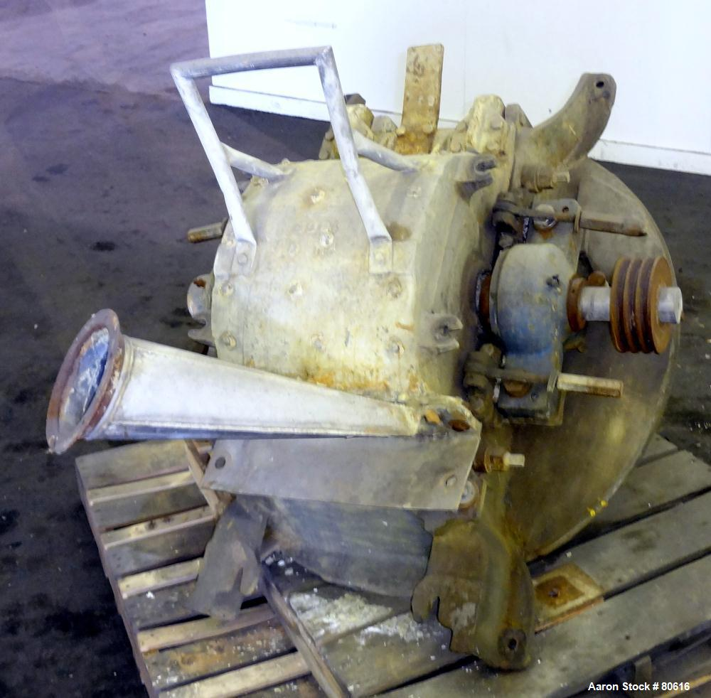 Used- Stainless Steel Mikro Pulverizer, Model 3TH