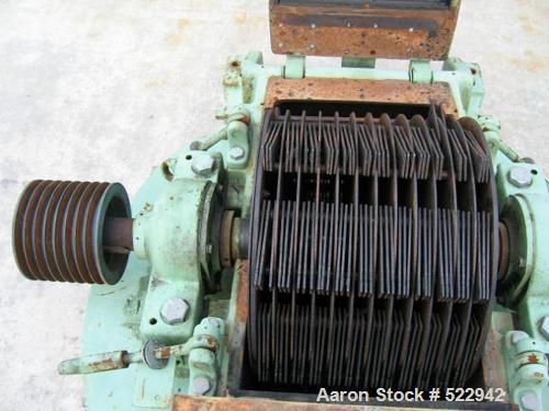 """USED: Model 4 SCB Mikro Pulverizer. Multi """"V"""" belt main drive withguard. Cast iron castings and steel rotor assembly. Multip..."""