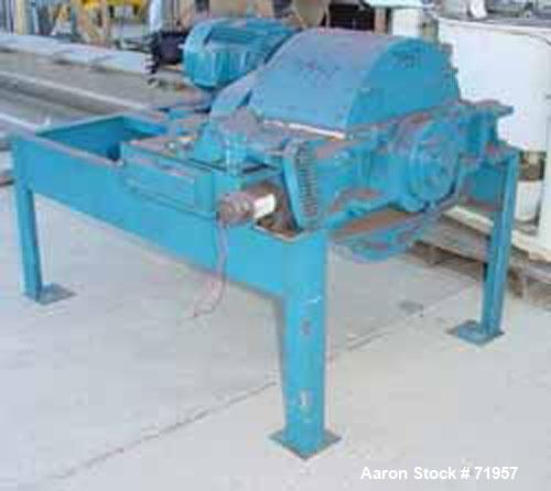 Used- Carbon Steel Mikro Pulverizer, Model 4TH