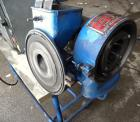"Used- Gruendler Crusher & Pulverizer Axial Grinder/Hammer Mill, model ""O"", carbon steel. Approximate 8"